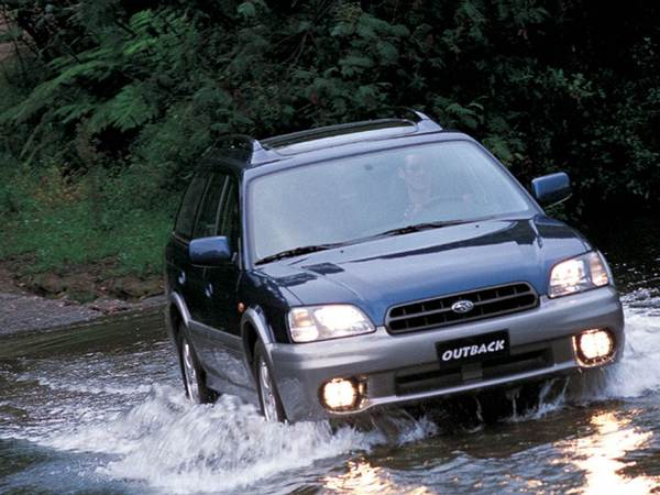Photo subaru outback 1999