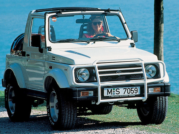 Photo suzuki samurai 1996