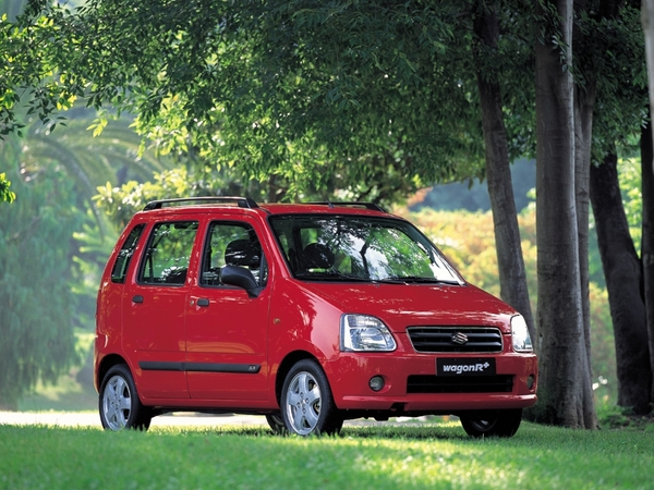 Photo suzuki wagon r+ 2001
