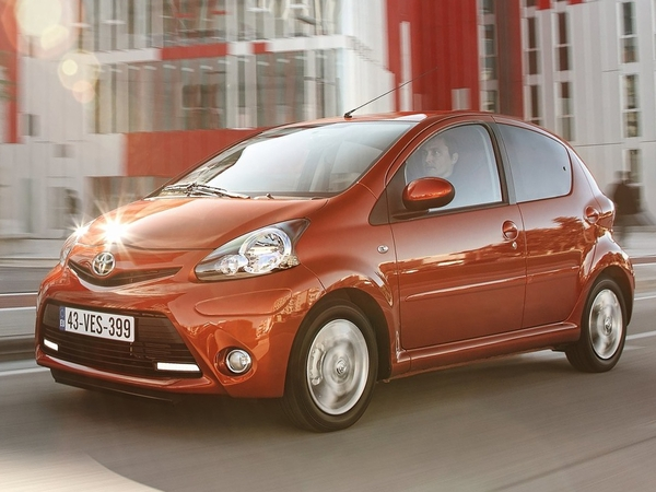 Photo toyota aygo 2012