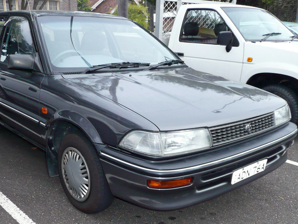 Photo toyota corolla 1991