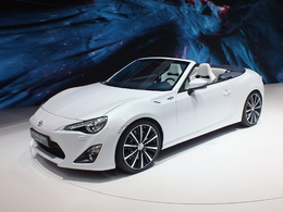 Toyota Gt86 Cabriolet Concept