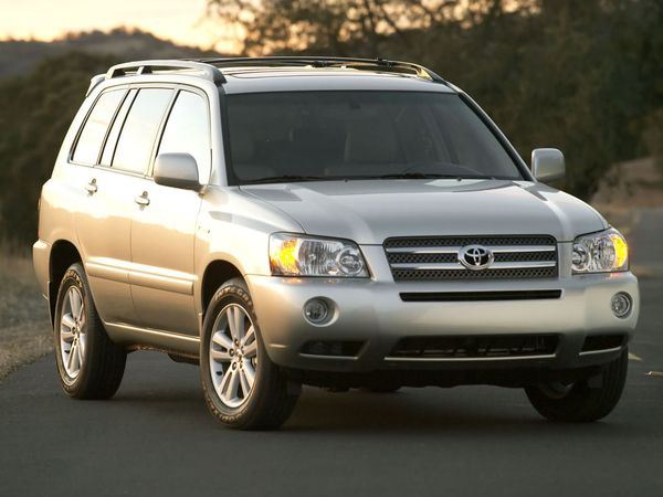 Photo toyota highlander 2004