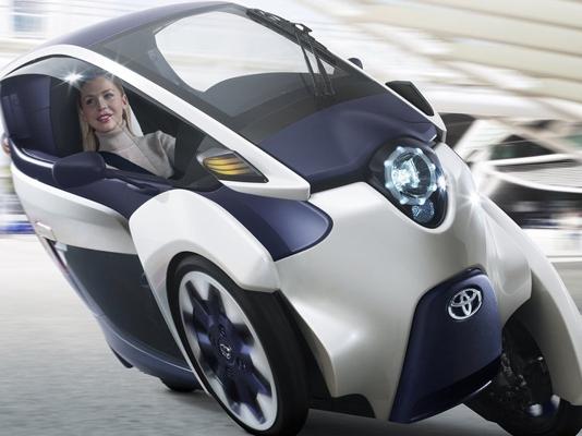 ToyotaI-road Concept