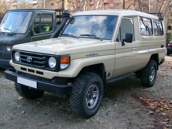 Photo toyota land cruiser 1995