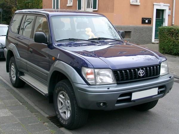 Photo toyota land cruiser 2001