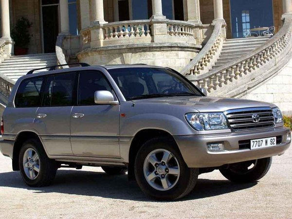 Photo toyota land cruiser sw 1999