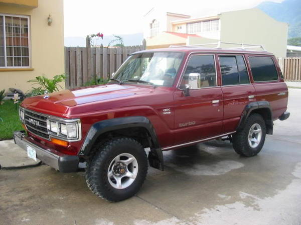 Photo toyota land cruiser sw 1987