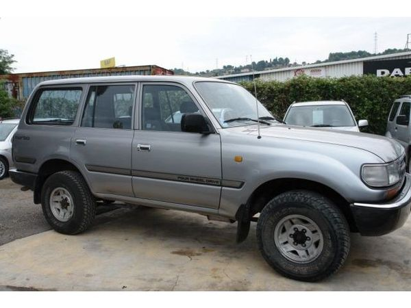 Photo toyota land cruiser sw 1993