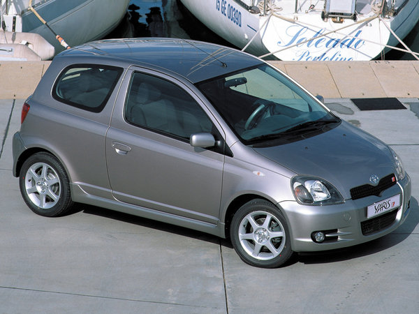 Photo toyota yaris 2003