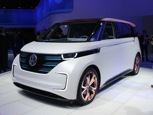 VolkswagenBudd-e Concept