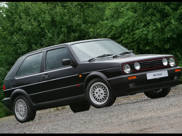 Photo volkswagen golf 1986