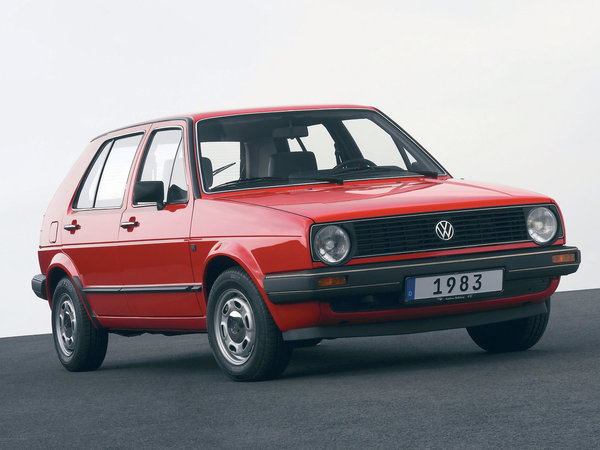 Photo volkswagen golf 1984