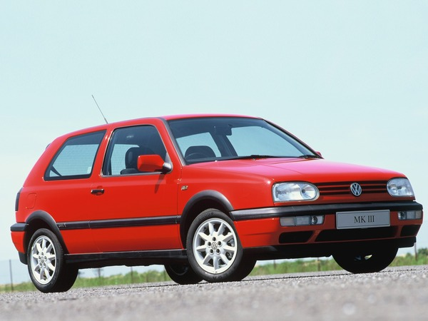 Photo volkswagen golf 1996