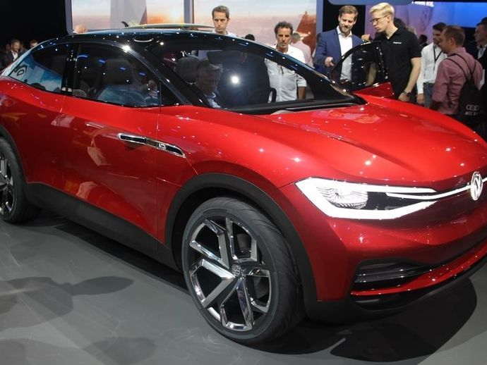 VolkswagenI.d. Crozz Ii Concept