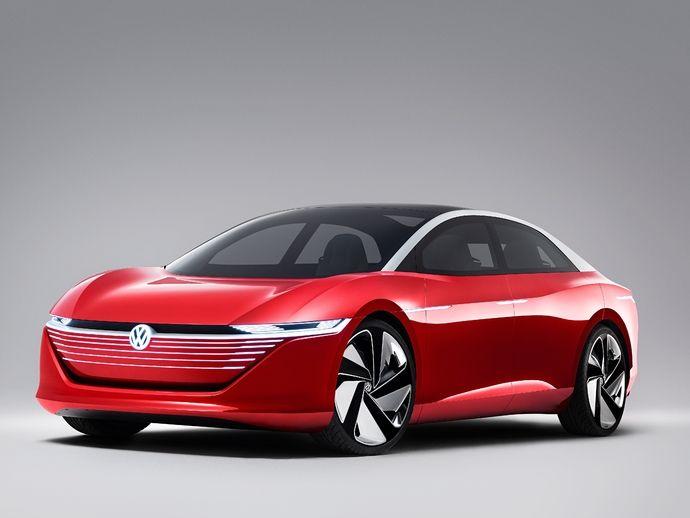 VolkswagenI.d. Vizzion Concept
