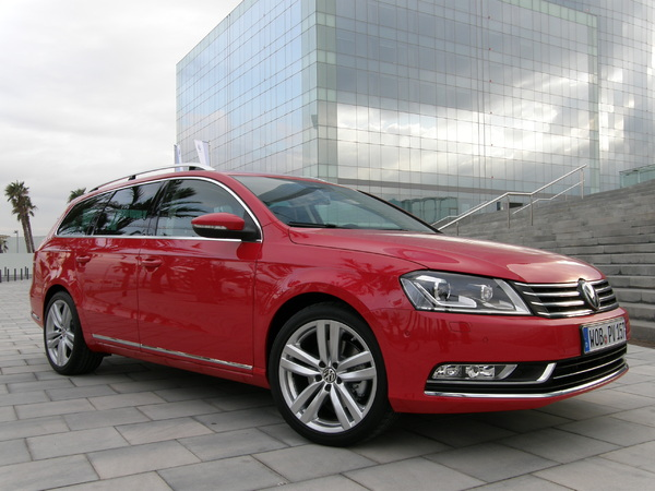 Photo volkswagen passat 2012