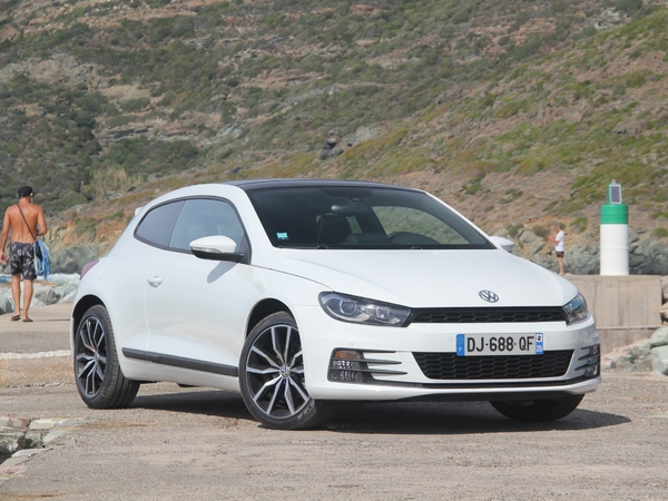 Photo volkswagen scirocco 2017