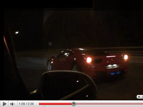 DragTimesInfo : Ferrari 458 Italia vs Audi RS6 Evotech 750ch, duel à 325km/h
