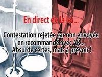 En direct de la loi - Contestation/Désignation : l'envoi non recommandé avec AR souvent rejeté