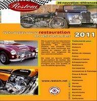 Le catalogue Restom 2011 est disponible ; tous à l'atelier…