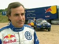 Carlos Sainz a testé une R25 à Barcelone