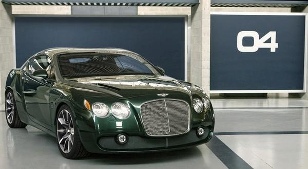 Salon de Genève 2008 : Bentley Continental GTZ avant l'heure
