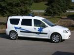 Dacia Logan: existe aussi en ambulance