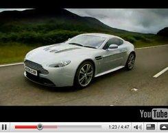 [vidéo Top Gear] : Jeremy Clarkson en Aston Martin V12 Vantage