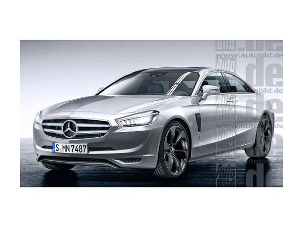 Mercedes Classe-E Superlight : de la fibre de carbone pour 350 kg en moins