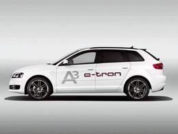 Toutes les nouveautés de Genève 2013 : Audi A3 e-tron : technologique