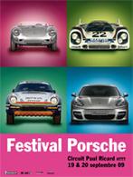 Festival Porsche 2009 : Plus d'informations sur les anciennes présentes au rendez-vous.