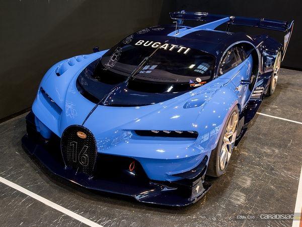 Photos du jour : Bugatti Vision GT (Rétromobile)
