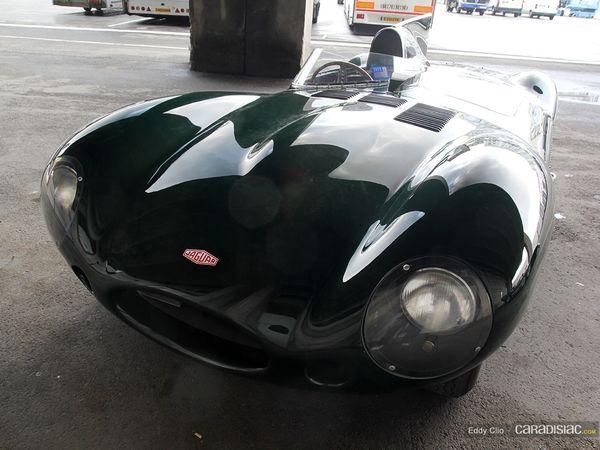 Photos du jour : jaguar Type D (Rétromobile)