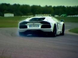 Fifth Gear : la Lamborghini Aventador dans les mains de Tiff Needell