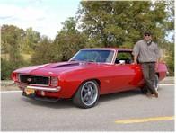 Chevrolet Camaro 69 by Reggie Jackson