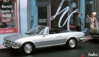 Miniature : 1/43ème - PEUGEOT 504 cabriolet