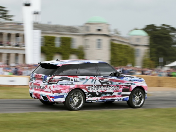 Rapid'news - Range Rover Sport SVR: teasing grandeur nature à Goodwood...