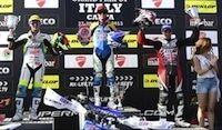Supermotard, championnat du Monde 2013, round 1: Hermunen prend la tête