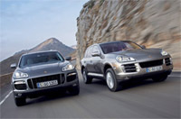 Porsche Cayenne: sauce diesel en 2009