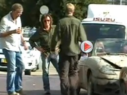 Top Gear en tournage à Israël, la vidéo