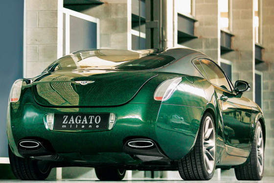 Genève 2008 : Bentley Continental GTZ by Zagato - acte 2