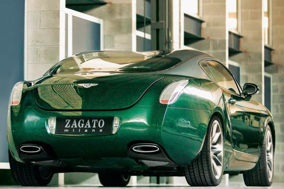 Genève 2008 : Bentley Continental GTZ by Zagato - acte 2
