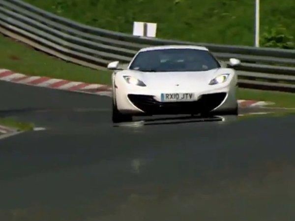 Ring Folies : la McLaren MP4-12C en 7'28