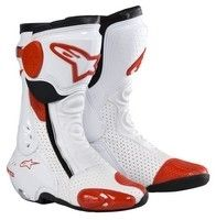 Pour la piste, la botte Alpinestars S-MX Plus.