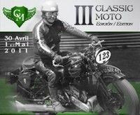 3ème Classic Moto sur le circuit de Jarama les 30 avril et 1er mai 2011.