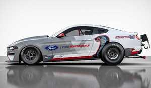 Ford lance une Mustang électrique pour la course en ligne droite