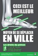 Bordeaux : dès demain, une campagne de sensibilisation sur la marche à pied en ville, alternative à la voiture