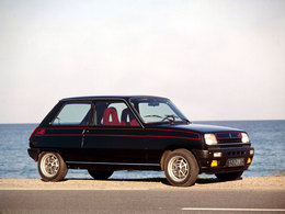 La p'tite sportive du lundi: Renault 5 Alpine.