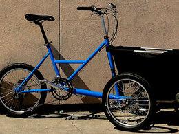 32 kilomètres/heure sur un vélo électrique capable de transporter 90 kilos de marchandises